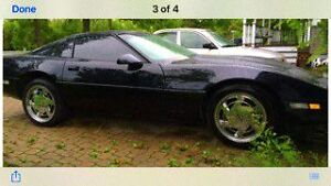Will trade for a Harley..1989 vette