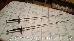 Fencing swords from Spain