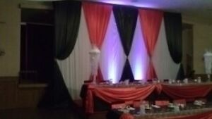Wedding Decor, Chair Covers ,Sashes,Tablecloths,Table Runners Windsor Region Ontario image 2