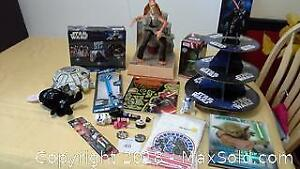 Star Wars collection of items