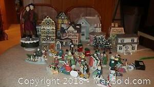 Christmas Village A