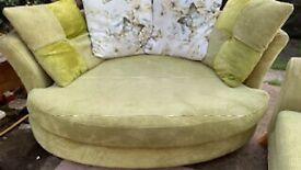Dfs cuddle sofa . Delivery