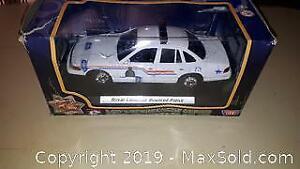 Diecast Police Car