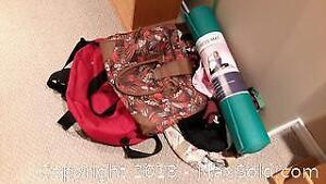 Bags And Exercise Mat A