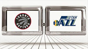 Jan 1st *Happy New Year* - Jazz vs. Raptors, Sec 120M