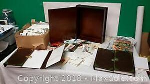 Box of everything, comic books, photo albums etc