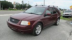 2007 Ford FreeStyle/Taurus X Limited DVD SUV, Crossover