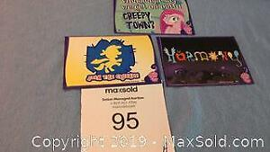 3 My Little Pony Enterplay, series 1 collector stickers