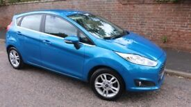 Ford Fiesta Zetec 1.25 Candy Blue 64 plate 5 door