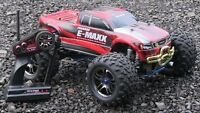 Traxxas E-Maxx Brushless Edition, Chargeur ONYZ, Bateries