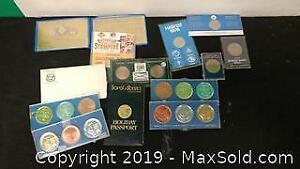 Assorted Medals, Tokens, Trade Dollars etc. ...W