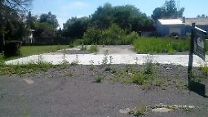 Vacant land zoned for Comercial