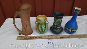 Pottery Vases - A
