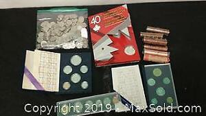 Canadian Coin Assortment, Silver Included