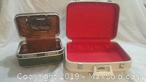 Holiday Luggage and Laurentian Luggage Vintage