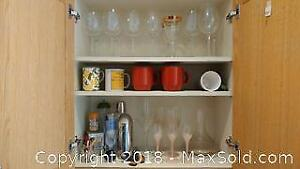 Decanter, Wine Glasses, Drink Mixers and More