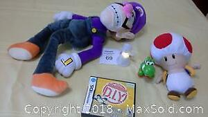 Nintendo Wario Ware DIY DS game & other items