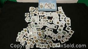 Tray full of Coins From Jamaica