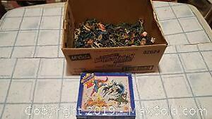 Vintage toy soldiers and super powers jigsaw puzzle