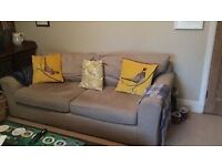 Next Beige 3 seater Sofa FREE