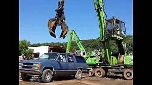Paying Top $$$ for your scrap car, truck or van