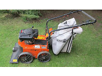American Professional Self Powered Vacuum and Leaf Collector