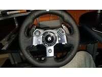 Gt G920 Gaming wheel with pedals