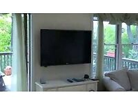 """LG 37"""" Led full Hd tv with freeview . Wall mountable only"""