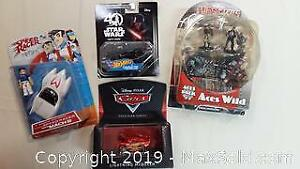 New Rare Sealed Action Figure Lot