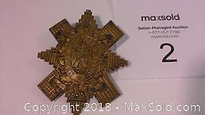 World War 1 British Blackwatch Royal Highlanders cap badge
