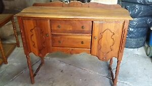 Antique Sideboard and Buffet Table