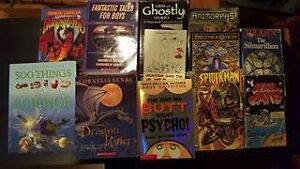 12 boys books asking $10.00 for the lot