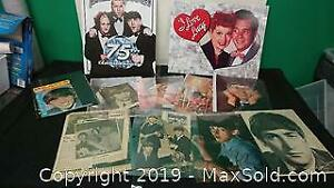 Assorted memorabilia .. Beatles, I Love Lucy ...mc