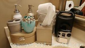 Bathroom Accessory Sets, Floor Standing Towel Rack and More