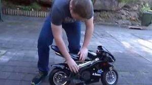 49 cc pocket bike! works perfect