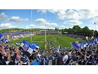 Bath v Saracens Rugby tickets X2