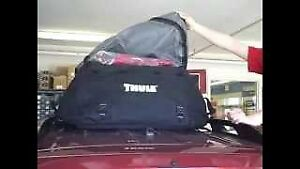 Thule Roof bag for travling in Black colour
