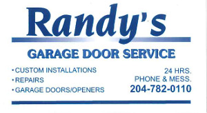 Garage Door and Remote Opener Services in Winnipeg | Skilled