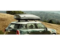 Thule roof box. For Hire