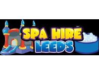 Hot Tub & Bouncy Castle Hire Yorkshire