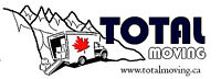 Total Moving-2 and 3 mover crews to serve you! DEBIT/CC on truck