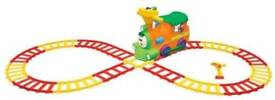 Rideon train with tracks and remote