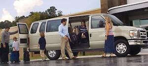 8, 10, 12 and 15 Passengers van rental 416-844-7426