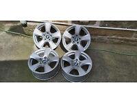 GENUINE BMW 5 Series 2007 E60/61 17 inch Alloy Wheels 225/50R17 6777346