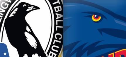Collingwood vs Adelaide AFL 2 x GA Tickets 30 July 3.20PM MCG