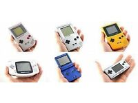 Wanted Nintendo handheld consoles wanted