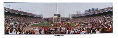 Ohio State Buckeyes Football Columbus OH Home Game Panoramic Poster 5041 Buckeyes Home Game