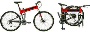 HUMMER Victory Red Limited Edition Mountain Bike   RARE!!