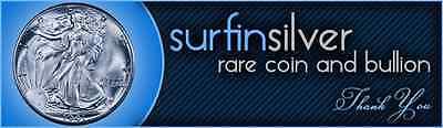 Surfin Silver Rare Coin and Bullion