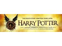 Harry Potter Cursed Child Part 2 - 26th March (x3 stall tickets)
